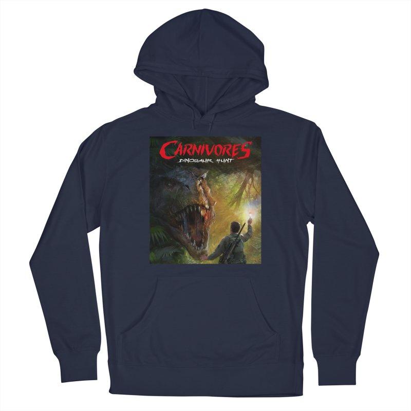 Carnivores: Dinosaur Hunt - T-Rex Hunter Men's Pullover Hoody by Digital Dreams Entainment Shop