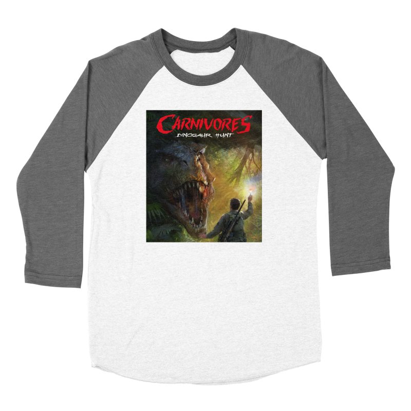 Carnivores: Dinosaur Hunt - T-Rex Hunter Women's Longsleeve T-Shirt by Digital Dreams Entainment Shop