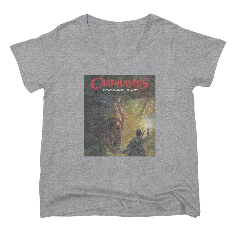 Carnivores: Dinosaur Hunt - T-Rex Hunter Women's Scoop Neck by Digital Dreams Entainment Shop