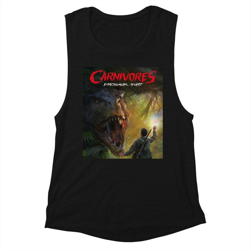 Carnivores: Dinosaur Hunt - T-Rex Hunter Women's Tank by Digital Dreams Entainment Shop