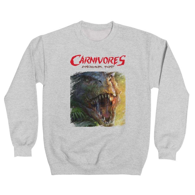 Carnivores: Dinosaur Hunt - T-Rex Scratch (on light) Women's Sweatshirt by Digital Dreams Entainment Shop