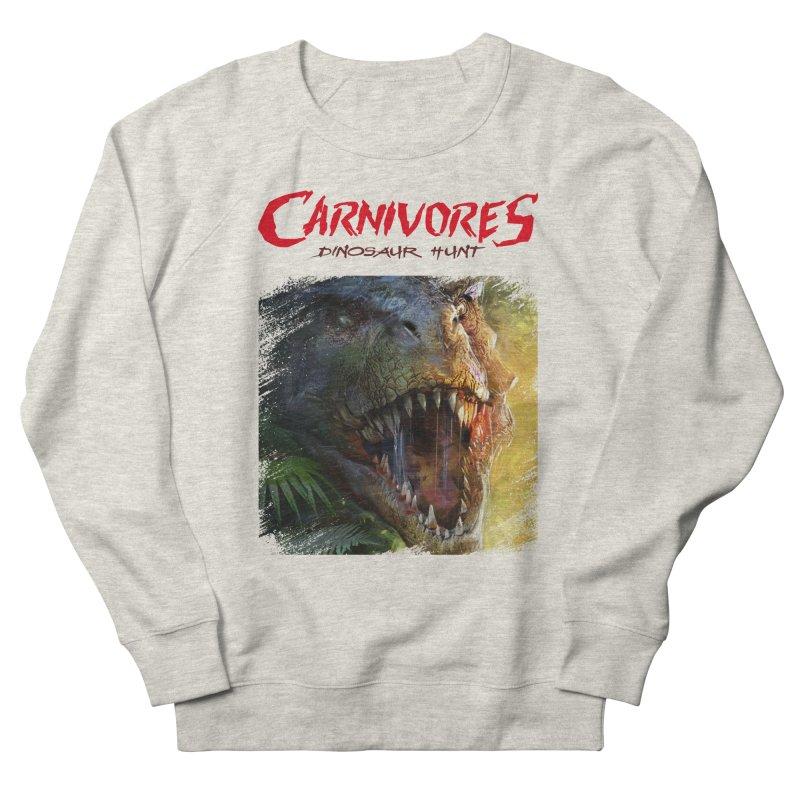 Carnivores: Dinosaur Hunt - T-Rex Scratch (on light) Men's Sweatshirt by Digital Dreams Entainment Shop