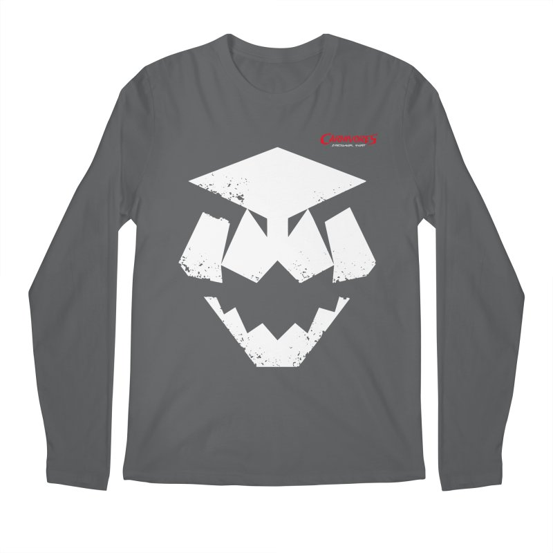 Carnivores: Dinosaur Hunter icon (on dark) Men's Longsleeve T-Shirt by Digital Dreams Entainment Shop