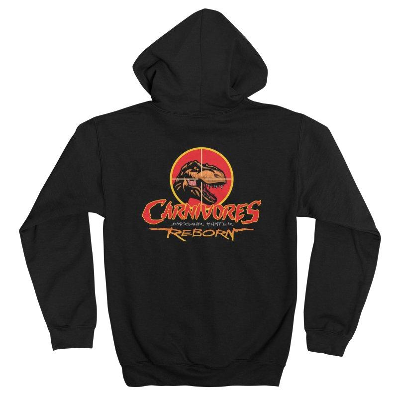 Carnivores: Dinosaur Hunter - Reborn logo Women's Zip-Up Hoody by Digital Dreams Entainment Shop
