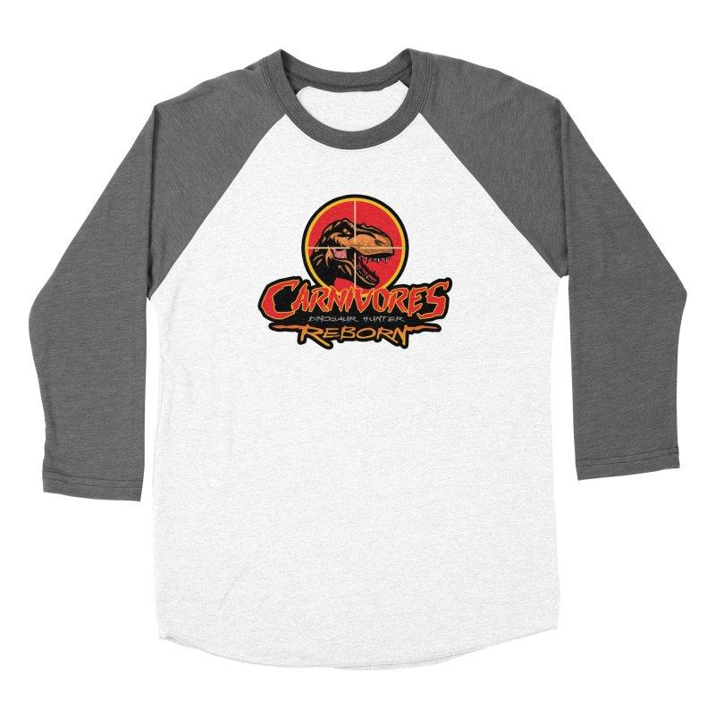Carnivores: Dinosaur Hunter - Reborn logo Women's Longsleeve T-Shirt by Digital Dreams Entainment Shop