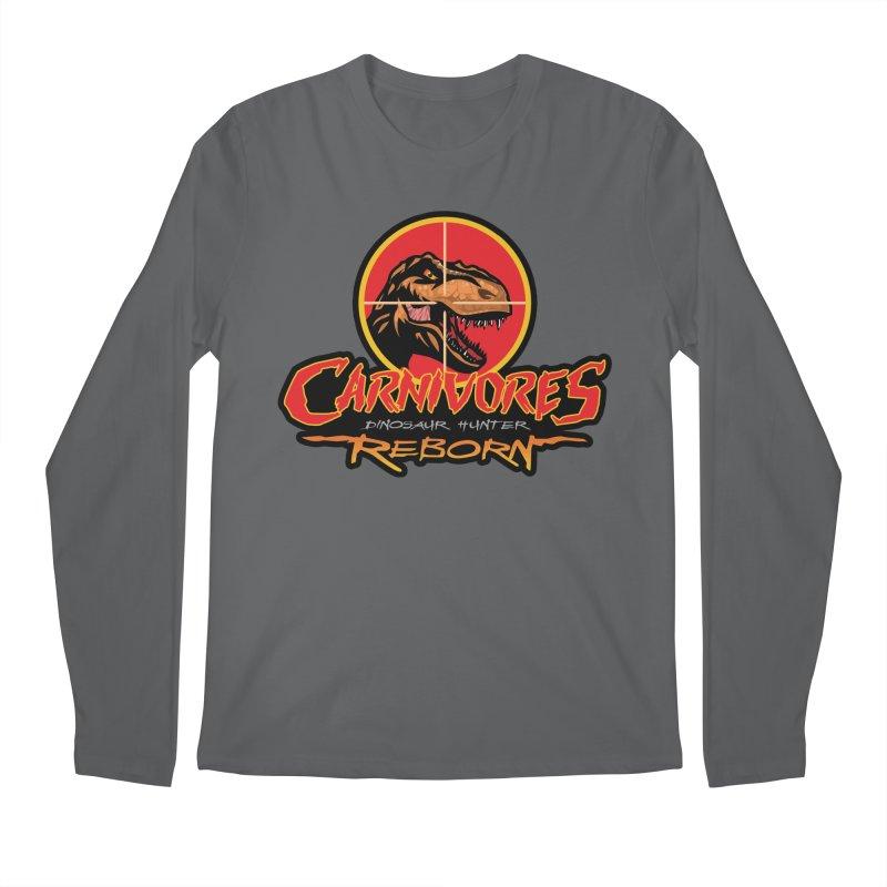 Carnivores: Dinosaur Hunter - Reborn logo Men's Longsleeve T-Shirt by Digital Dreams Entainment Shop