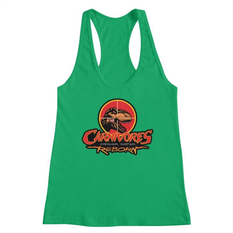 Carnivores: Dinosaur Hunter - Reborn logo Women's Tank by Digital Dreams Entainment Shop