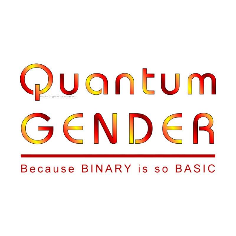 Quantum Gender- Basic Masc T-Shirt by The Digital Gryphon Shop