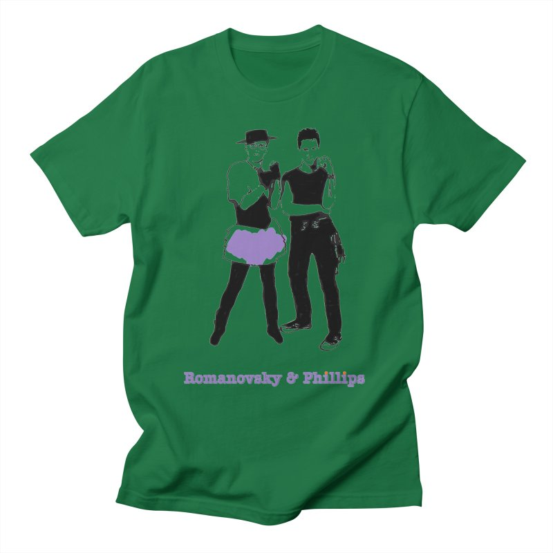R&P Retro Purple Apparel Masc T-Shirt by The Digital Gryphon Shop
