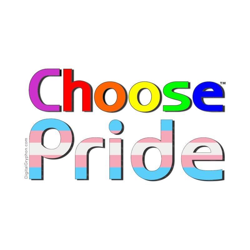 Choose Pride (trans stripes) Little Folks Baby Zip-Up Hoody by The Digital Gryphon Shop
