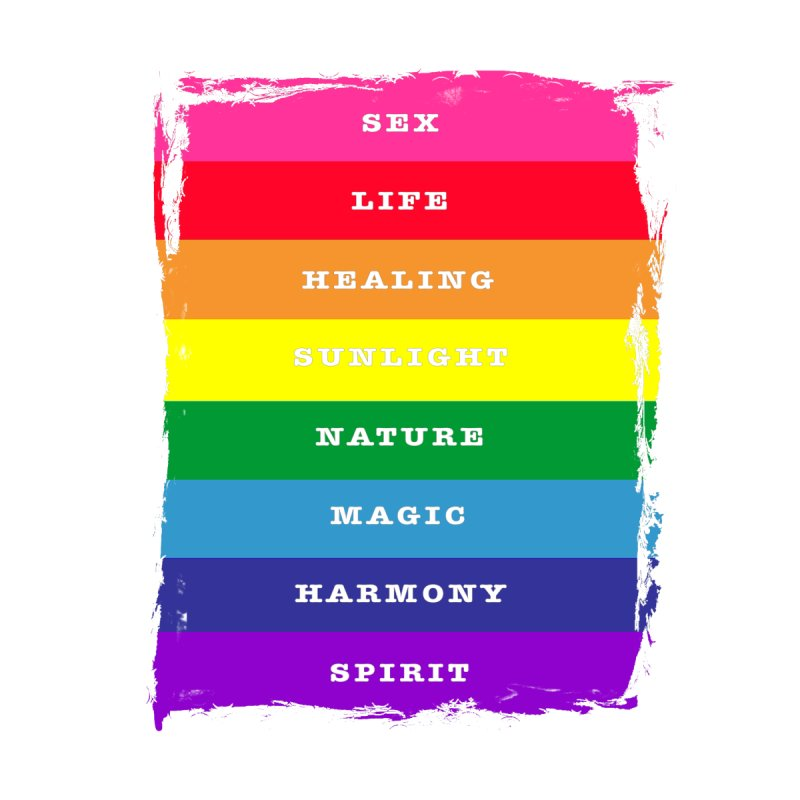 OG Rainbow Pride (with meanings) More Merch Notebook by The Digital Gryphon Shop