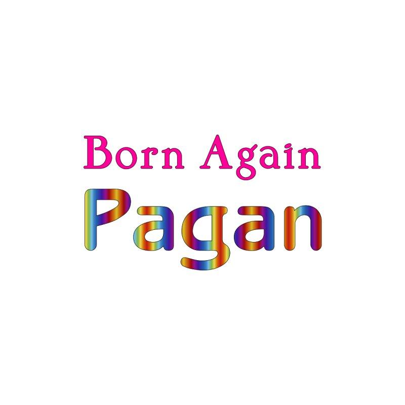 Born Again Pagan Logotype Masc T-Shirt by The Digital Gryphon Shop