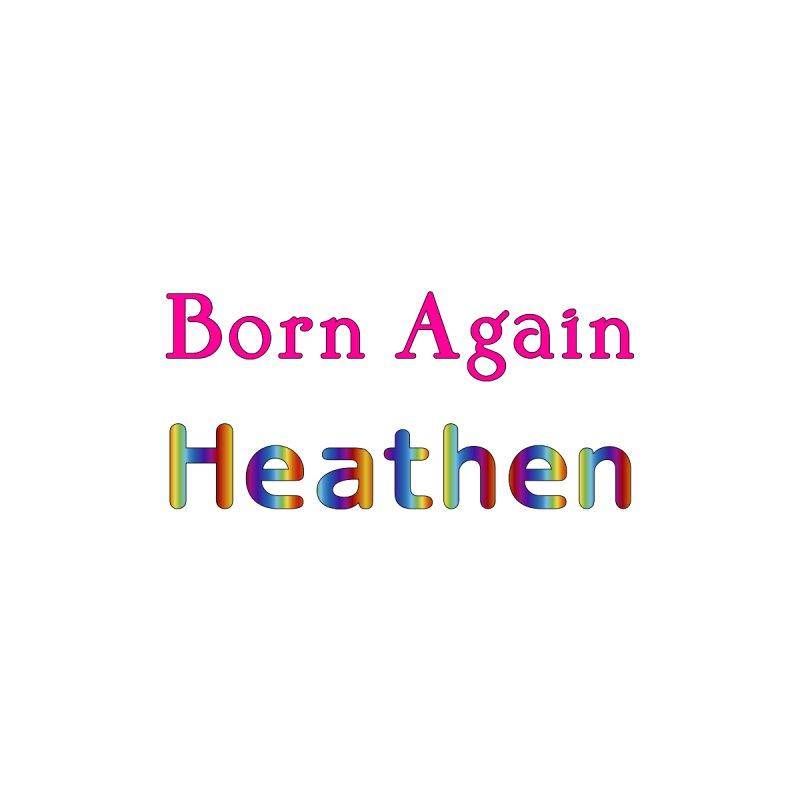 Born Again Heathen Logotype Femme T-Shirt by The Digital Gryphon Shop
