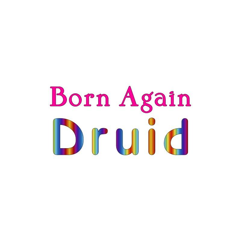 Born Again Druid Logotype Masc T-Shirt by The Digital Gryphon Shop