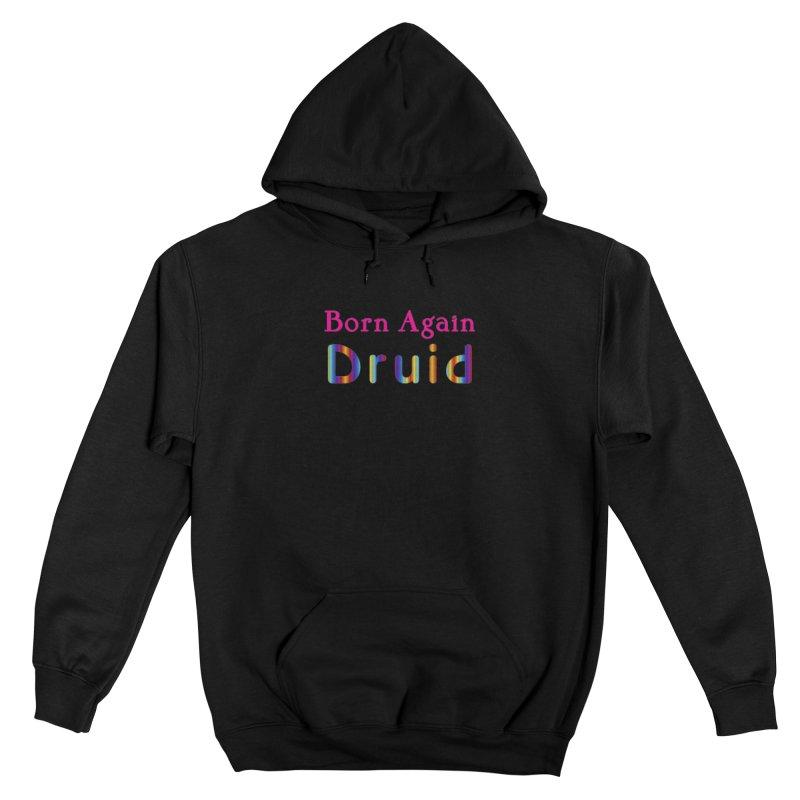 Born Again Druid Logotype Femme Pullover Hoody by The Digital Gryphon Shop