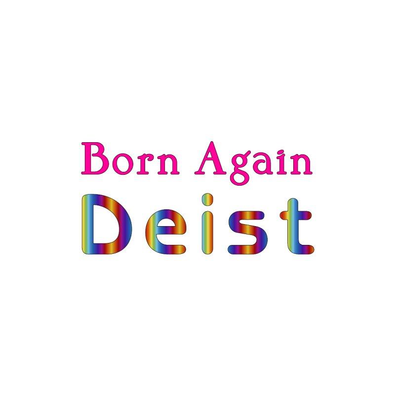 Born Again Deist Logotype Femme Zip-Up Hoody by The Digital Gryphon Shop