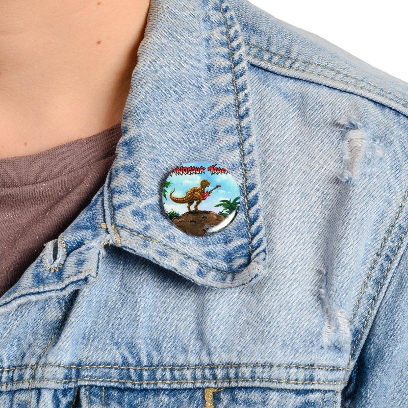 Dinosaur Tracks Album Cover Accessories Button by Dinosaur Tracks Artist Shop