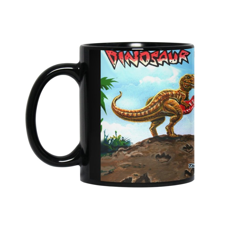 Dinosaur Tracks Album Cover Accessories Mug by Dinosaur Tracks Artist Shop