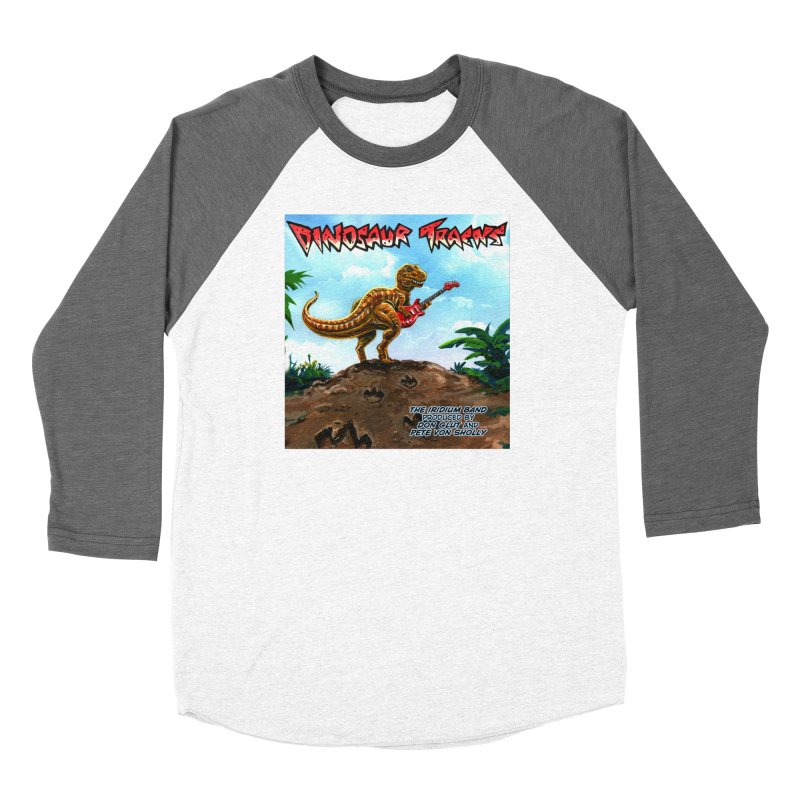Dinosaur Tracks Album Cover Women's Longsleeve T-Shirt by Dinosaur Tracks Artist Shop