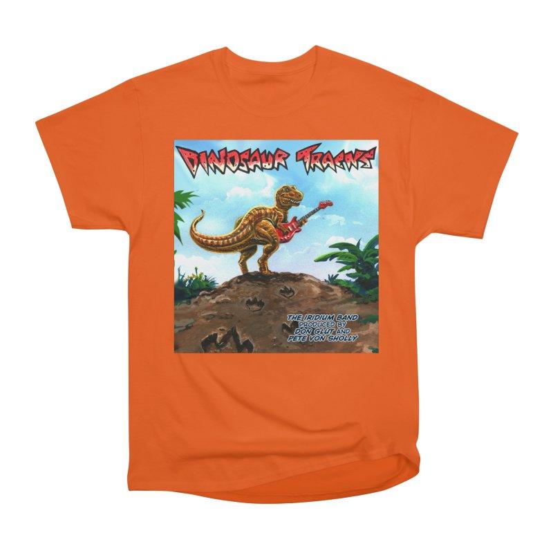 Dinosaur Tracks Album Cover Women's T-Shirt by Dinosaur Tracks Artist Shop