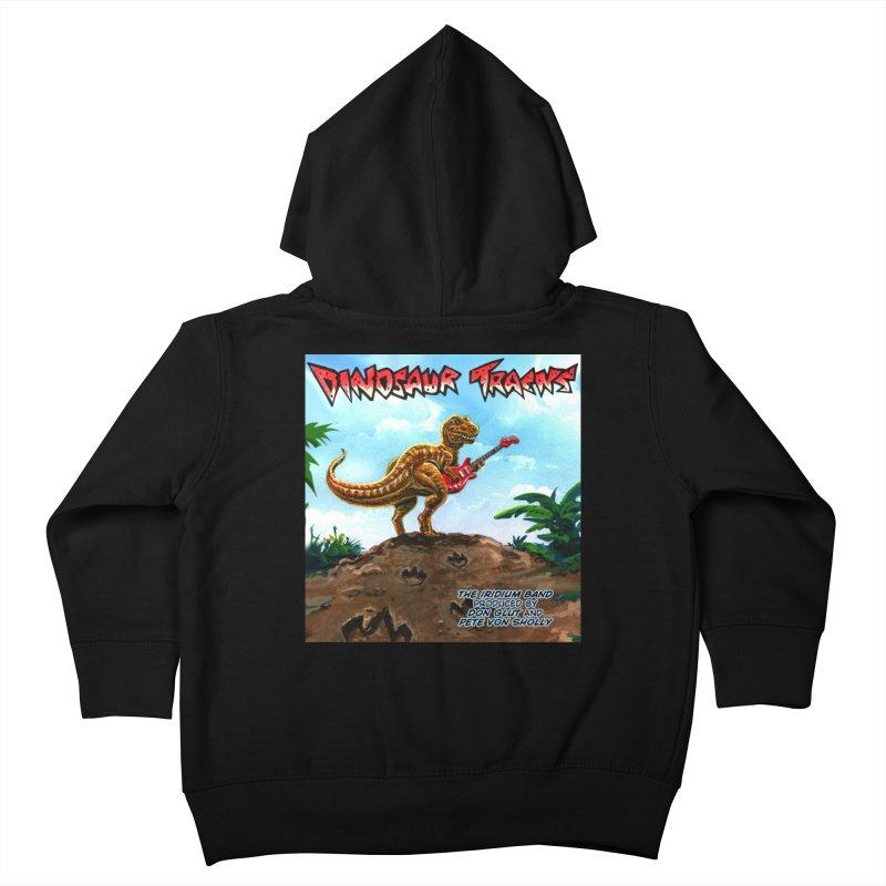 Dinosaur Tracks Album Cover Kids Toddler Zip-Up Hoody by Dinosaur Tracks Artist Shop