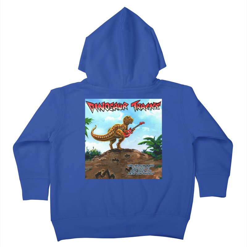 Dinosaur Tracks Album Cover Kids Toddler Zip-Up Hoody by Dinosaur Tracks Artist Shop