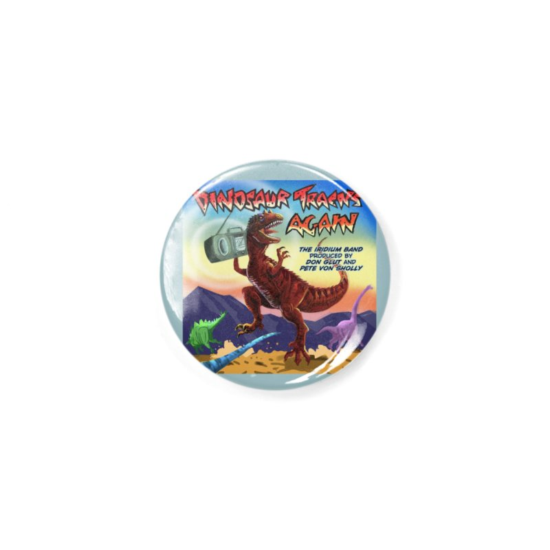 DINOSAUR TRACKS AGAIN Album Art Accessories Button by Dinosaur Tracks Artist Shop