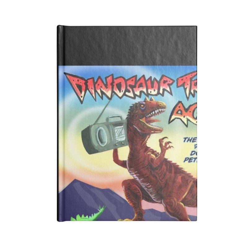 DINOSAUR TRACKS AGAIN Album Art Accessories Notebook by Dinosaur Tracks Artist Shop