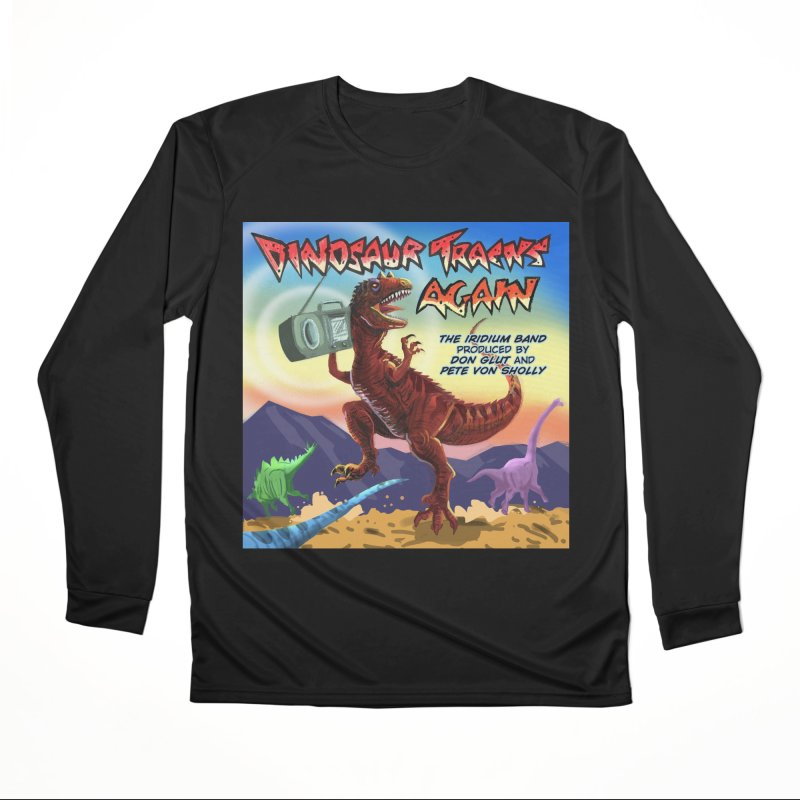 DINOSAUR TRACKS AGAIN Album Art Men's Longsleeve T-Shirt by Dinosaur Tracks Artist Shop