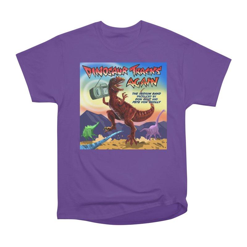 DINOSAUR TRACKS AGAIN Album Art Women's T-Shirt by Dinosaur Tracks Artist Shop