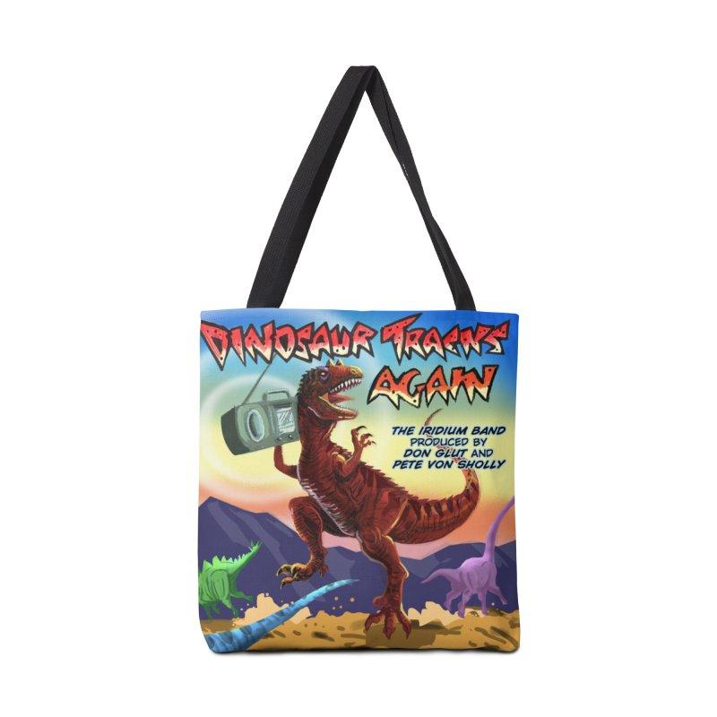 DINOSAUR TRACKS AGAIN Album Art Accessories Bag by Dinosaur Tracks Artist Shop