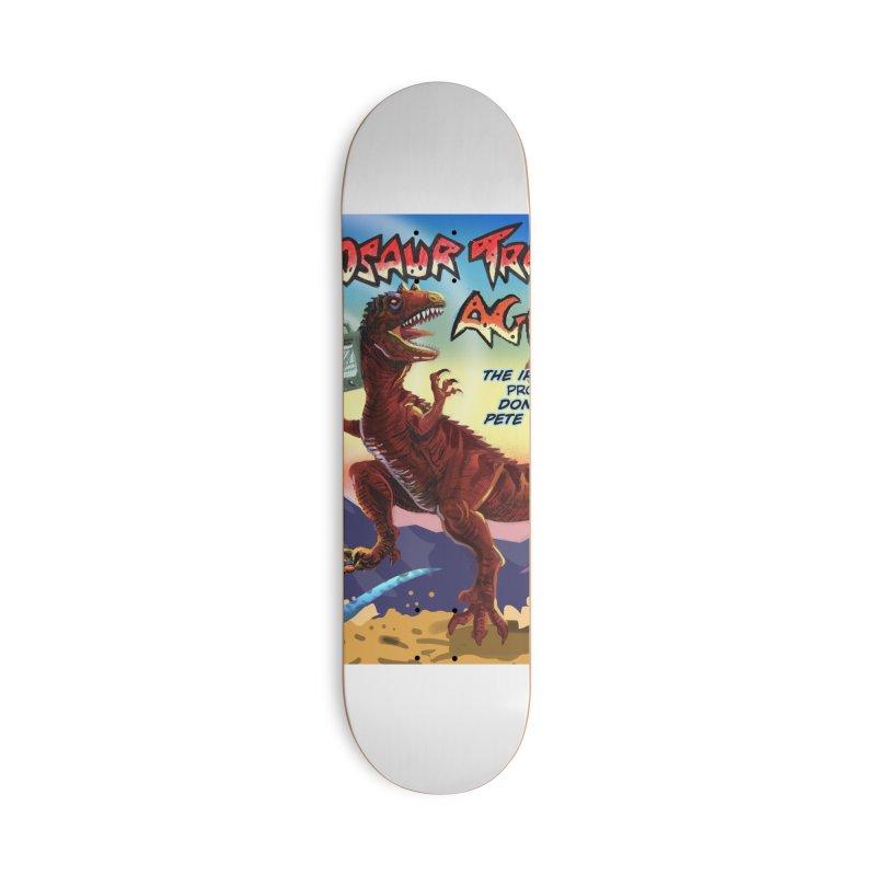DINOSAUR TRACKS AGAIN Album Art Accessories Skateboard by Dinosaur Tracks Artist Shop