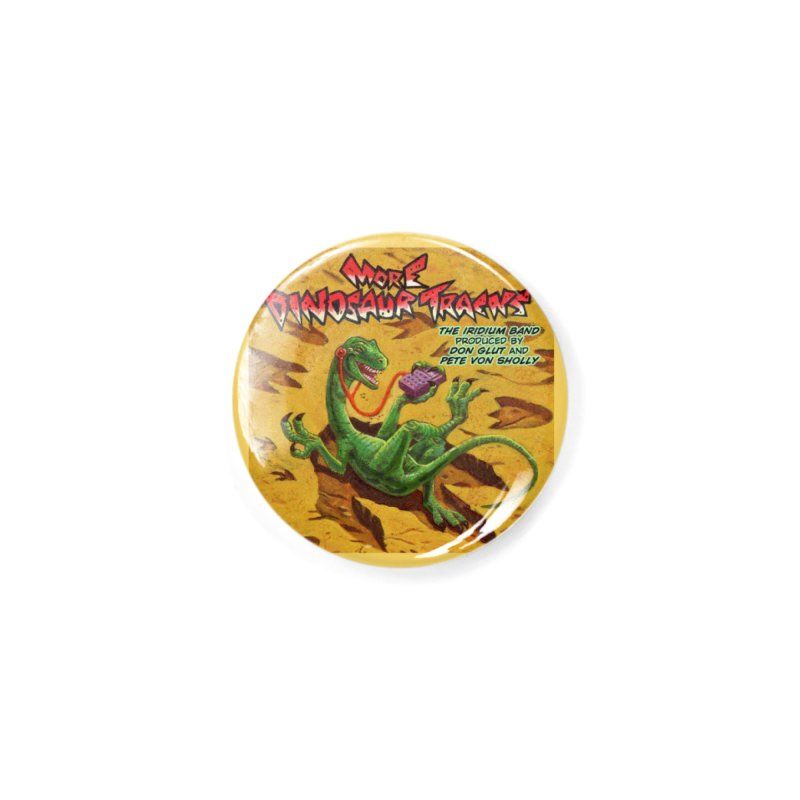 MORE DINOSAUR TRACKS Album cover Accessories Button by Dinosaur Tracks Artist Shop