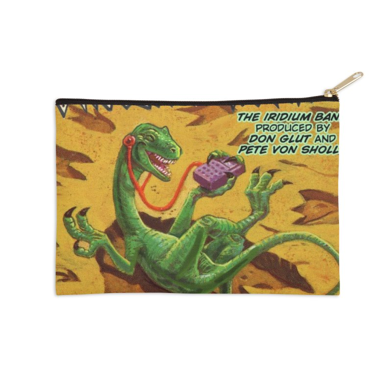 MORE DINOSAUR TRACKS Album cover Accessories Zip Pouch by Dinosaur Tracks Artist Shop