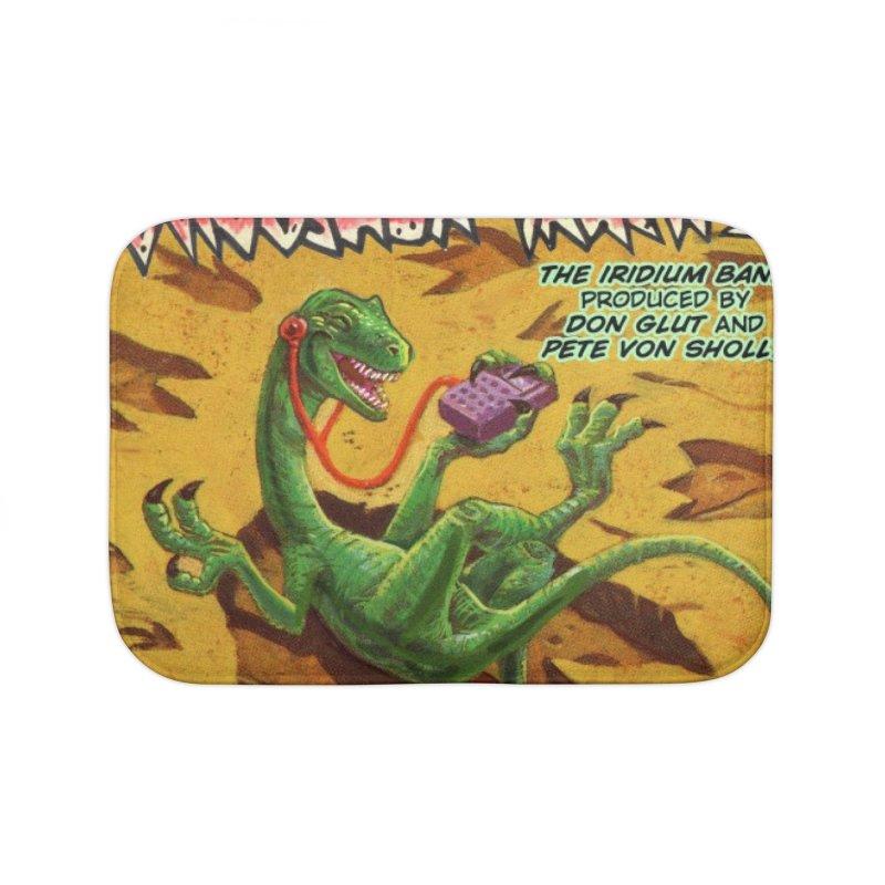 MORE DINOSAUR TRACKS Album cover Home Bath Mat by Dinosaur Tracks Artist Shop
