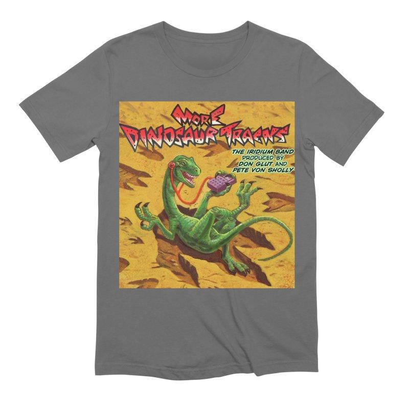 MORE DINOSAUR TRACKS Album cover Men's T-Shirt by Dinosaur Tracks Artist Shop
