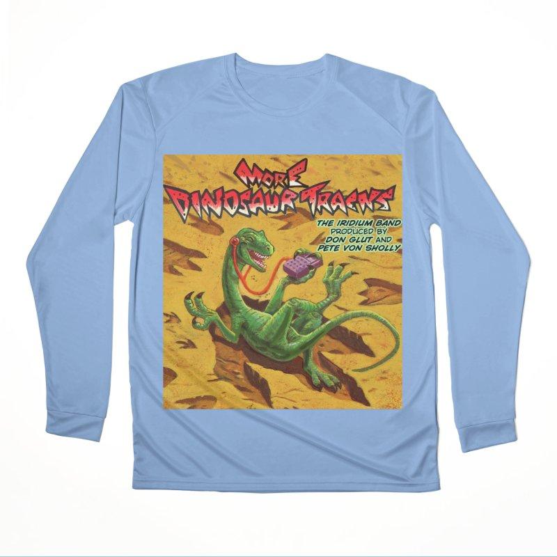 MORE DINOSAUR TRACKS Album cover Men's Longsleeve T-Shirt by Dinosaur Tracks Artist Shop