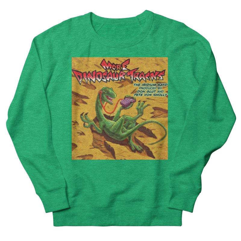 MORE DINOSAUR TRACKS Album cover Women's Sweatshirt by Dinosaur Tracks Artist Shop