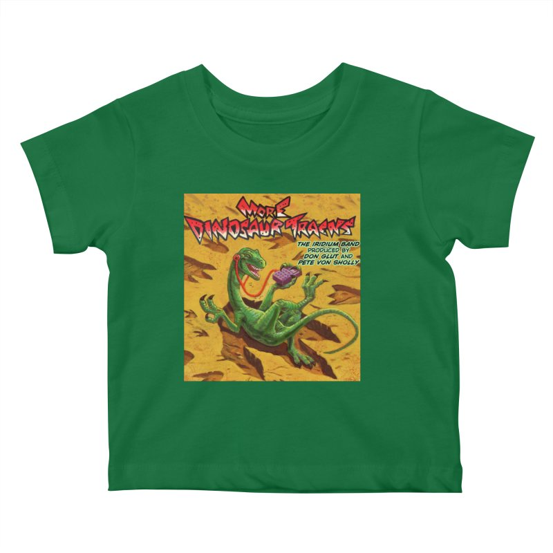 MORE DINOSAUR TRACKS Album cover Kids Baby T-Shirt by Dinosaur Tracks Artist Shop