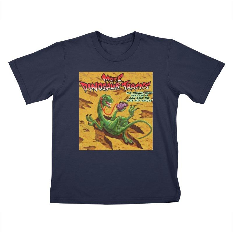 MORE DINOSAUR TRACKS Album cover Kids T-Shirt by Dinosaur Tracks Artist Shop