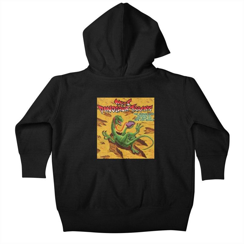 MORE DINOSAUR TRACKS Album cover Kids Baby Zip-Up Hoody by Dinosaur Tracks Artist Shop