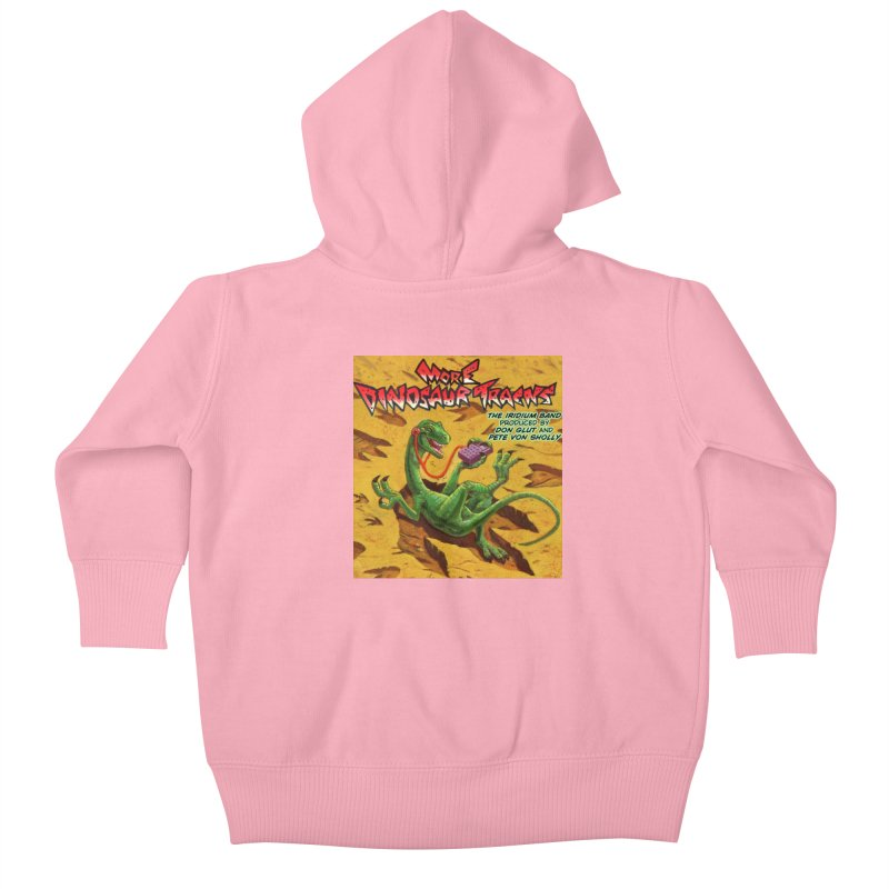 MORE DINOSAUR TRACKS Album cover Kids Baby Zip-Up Hoody by Dinosaur Tracks Artist Shop