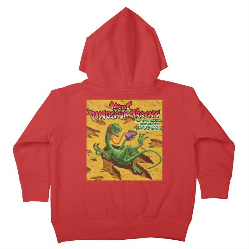 MORE DINOSAUR TRACKS Album cover Kids Toddler Zip-Up Hoody by Dinosaur Tracks Artist Shop