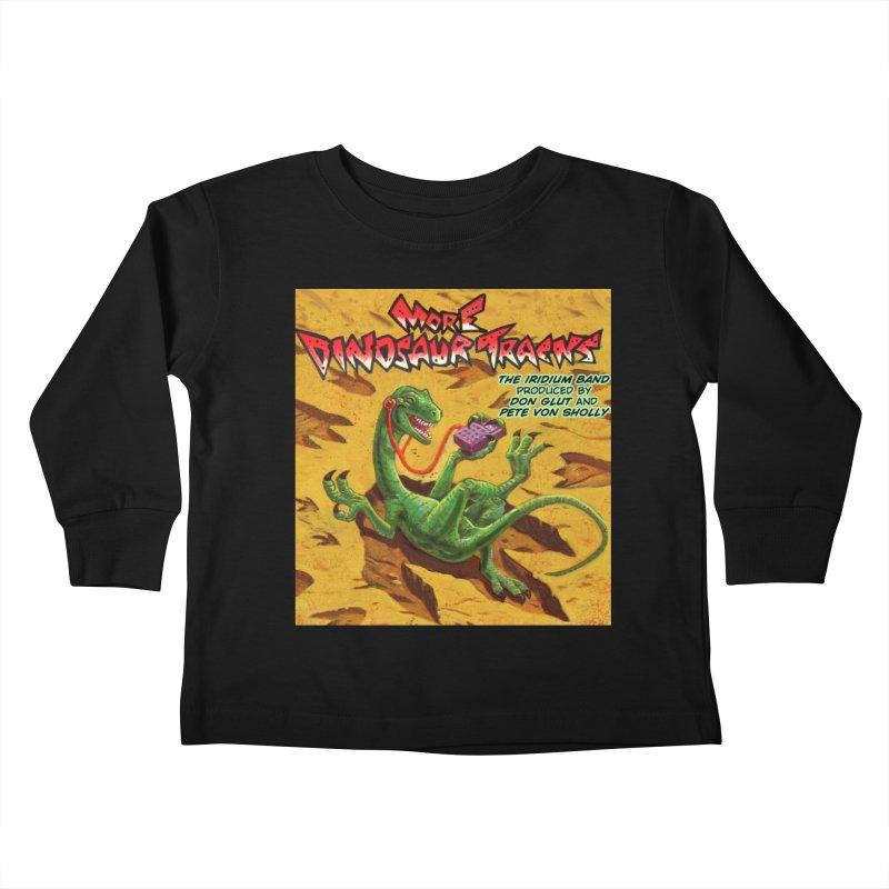 MORE DINOSAUR TRACKS Album cover Kids Toddler Longsleeve T-Shirt by Dinosaur Tracks Artist Shop