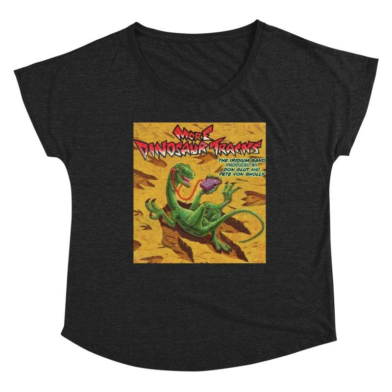 MORE DINOSAUR TRACKS Album cover Women's Scoop Neck by Dinosaur Tracks Artist Shop