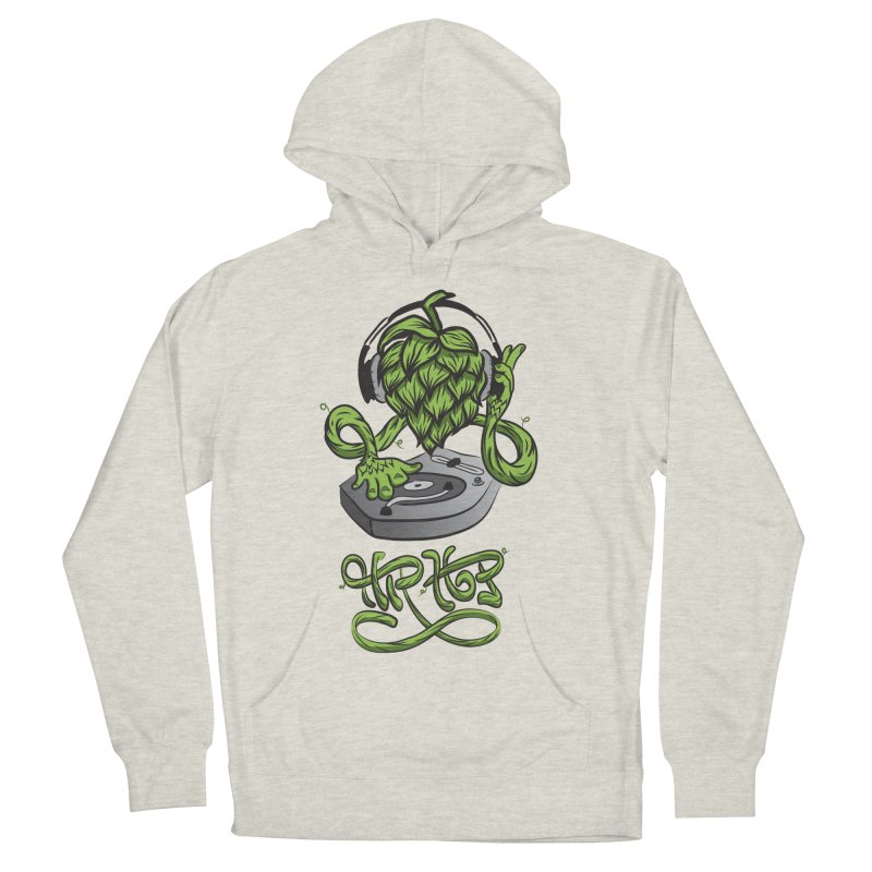 Hip Hop Men's French Terry Pullover Hoody by Dijanni's Artist Shop