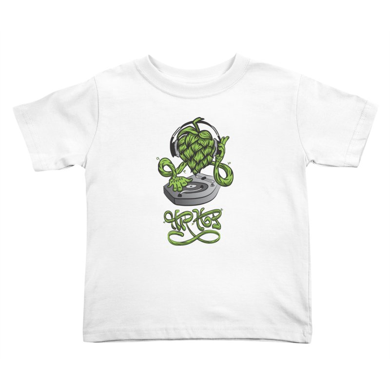 Hip Hop Kids Toddler T-Shirt by Dijanni's Artist Shop