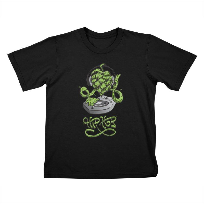 Hip Hop Kids T-Shirt by Dijanni's Artist Shop