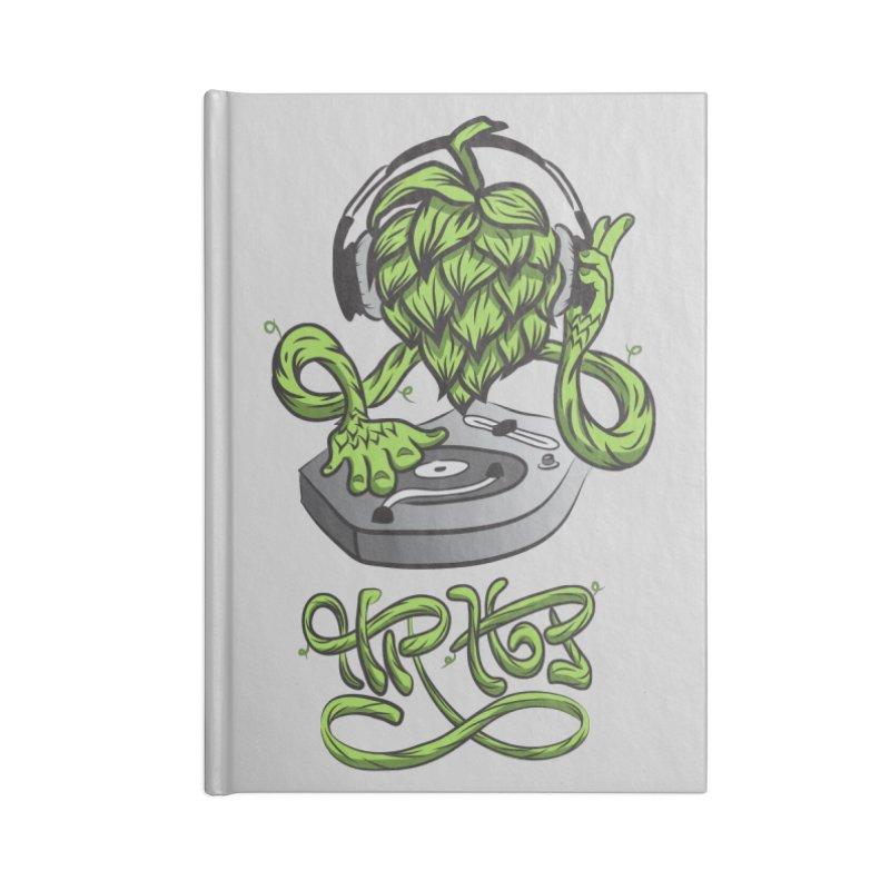 Hip Hop Accessories Lined Journal Notebook by Dijanni's Artist Shop