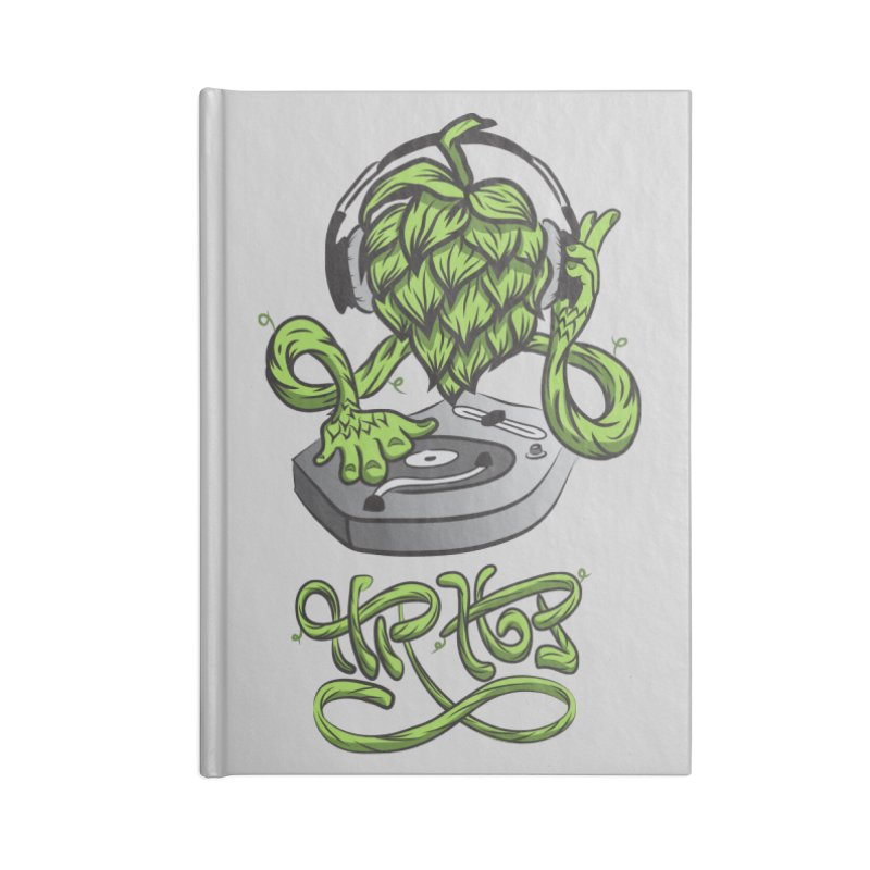 Hip Hop Accessories Blank Journal Notebook by Dijanni's Artist Shop